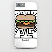 iPhone & iPod Case featuring Pop Art Burger #1 by Charlton Yu