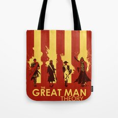 The Great Man Theory Tote Bag