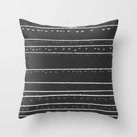 168 Drops & Droplets  Throw Pillow