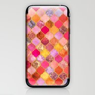 Hot Pink, Gold, Tangerin… iPhone & iPod Skin