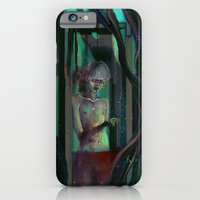 iPhone & iPod Case featuring There is a demon in those who torture themselves by Georgiath