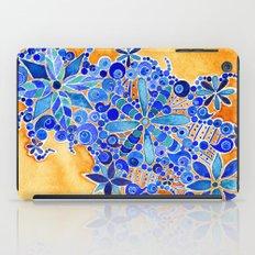 Blue Bouquet iPad Case