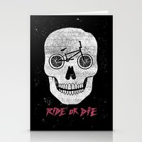 Ride Or Die Stationery Cards