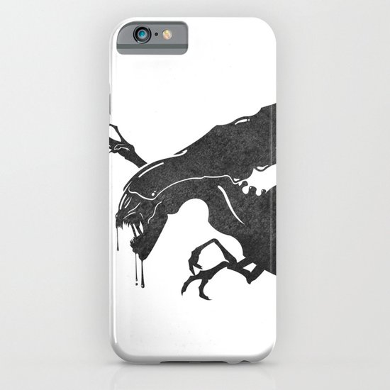 The Queen Alien iPhone & iPod Case