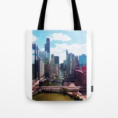 Chicago River View II Tote Bag