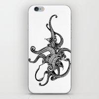 Henna Octopus  iPhone & iPod Skin