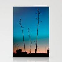 Arizona Desert Sunset  Stationery Cards