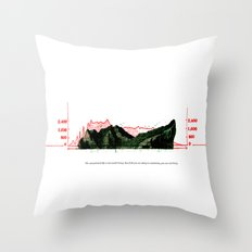 The unexamined life is not worth living. But if all you are doing is examining, you are not living. Throw Pillow