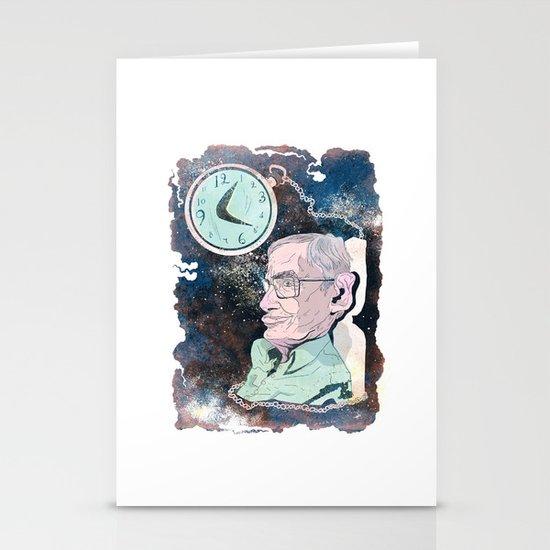Stephen Hawking Stationery Card