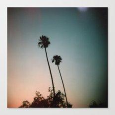 Sunset Palms Canvas Print