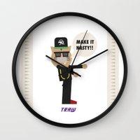 Traw Wall Clock