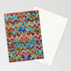 Wild Chevron- Indian Style Stationery Cards