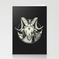 I'm Not A Satanist! Stationery Cards