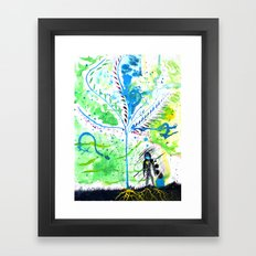 Why? Framed Art Print