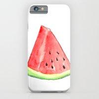 Watermelon Red Piece iPhone 6 Slim Case