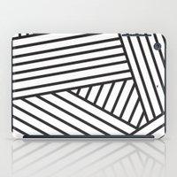 Optical Stripes iPad Case