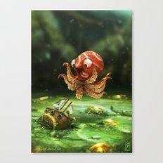 The Kraken! Canvas Print