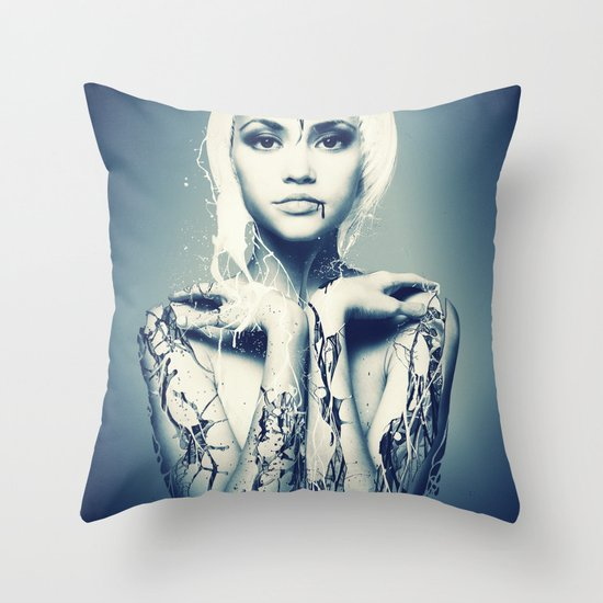 Beauty Expired Throw Pillow