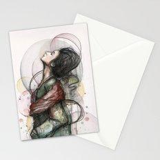 Beauty Illustration Stationery Cards