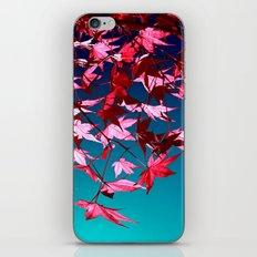 red tree II iPhone & iPod Skin