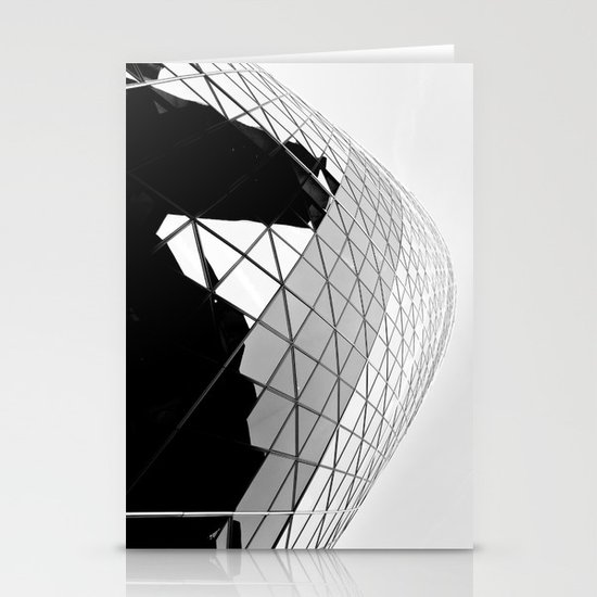 The Gherkin Stationery Card