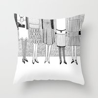 The Sunny Side Of The St… Throw Pillow