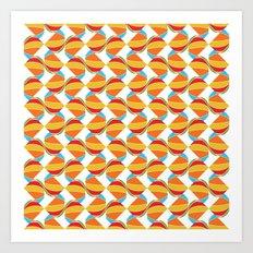 Pattern Repeat Art Print