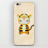 iPhone & iPod Skin featuring A Boy - Tigger by Christophe Chiozzi