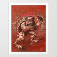 kapa Art Print