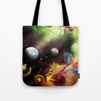 Another Dimension Tote Bag