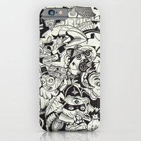 iPhone & iPod Case featuring Cicrle Doodle by MOONGUTS (Kyle Coughlin)