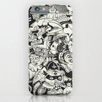 Cicrle Doodle iPhone 6 Slim Case