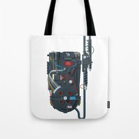 Proton pack, Ghostbusters Tote Bag