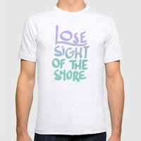The Shore Mens Fitted Tee Ash Grey SMALL