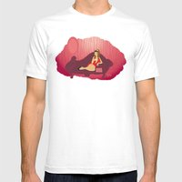 404 Mens Fitted Tee White SMALL