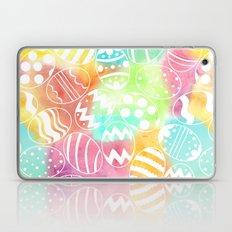 Watercolored Eggs Laptop & iPad Skin