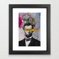 Public Figures -  Lincoln Framed Art Print