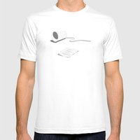 You Never Call Anymore Mens Fitted Tee White SMALL