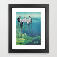 High Attitude Framed Art Print