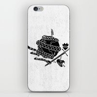 Be Not Afraid In This World iPhone & iPod Skin