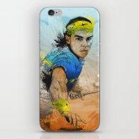 Rafa Nadal iPhone & iPod Skin