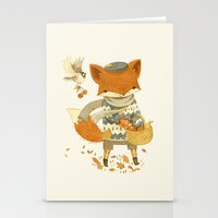 Fritz The Fruit-Foraging… Stationery Cards