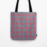 Spinners Pattern Tote Bag