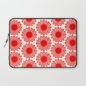 Vintage Flower-Red Laptop Sleeve