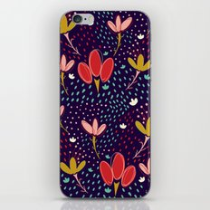 Vintage Ditsy Floral iPhone & iPod Skin