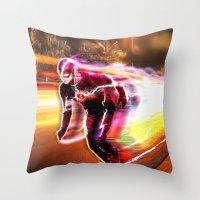 Freeze Frame Throw Pillow