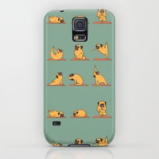 Pug Yoga Galaxy S5 Slim Case