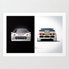 Group B Edition, N.º4, Ford RS200 Art Print