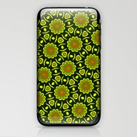 Cute Ethnic Floral Patte… iPhone & iPod Skin