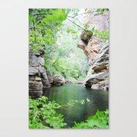 West Clear Creek Canvas Print